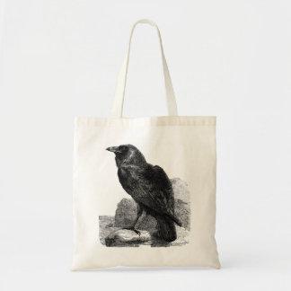 Bolso del cuervo bolsa tela barata