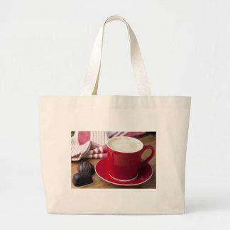 Bolso del descanso para tomar café bolsa lienzo