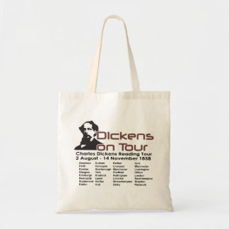 Bolso del Dickens-Viaje Bolsa Tela Barata