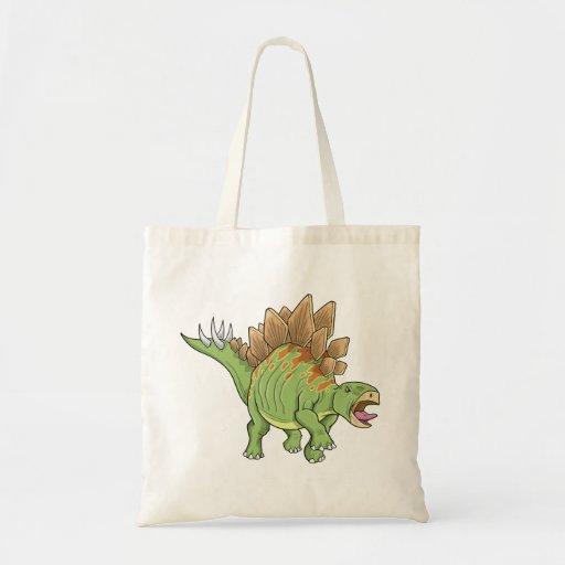 Bolso del dinosaurio del Stegosaurus Bolsa De Mano