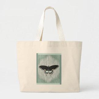 Bolso del diseño de Spicebush Swallowtail Bolsa Tela Grande