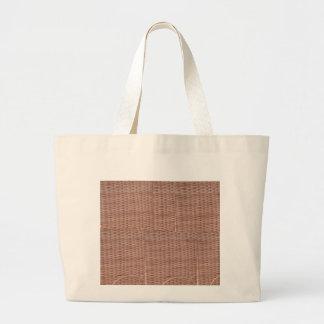 Bolso del diseño del bastón bolsa tela grande