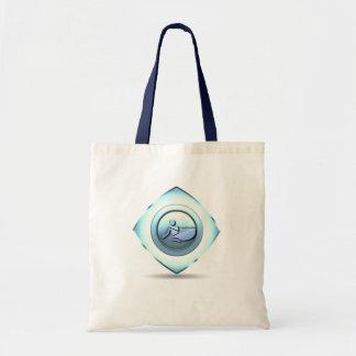 Bolso del diseño del canotaje bolsas lienzo