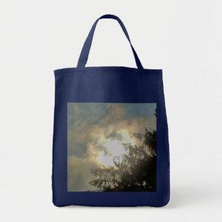 Bolso del diseño del cielo que frecuenta bolsa lienzo