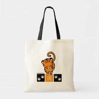 Bolso del diseño del tigre bolsa de mano