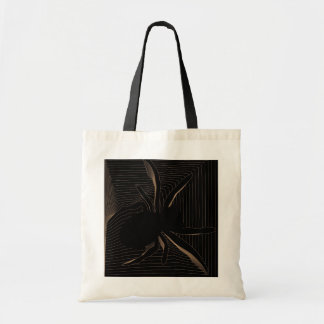 bolso del diseño web de la araña bolsa tela barata