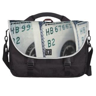 Bolso del dólar bolsas de portátil