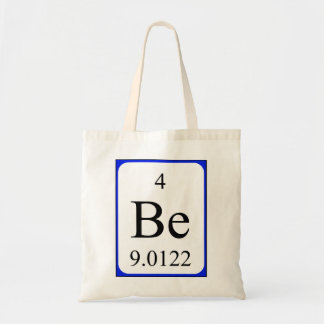 Bolso del elemento 4 - blanco del berilio bolsa tela barata