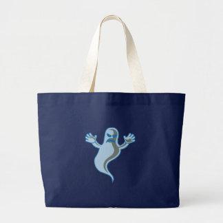 Bolso del fantasma bolsa de tela grande