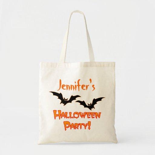 Bolso del favor de fiesta de Halloween Bolsa Tela Barata