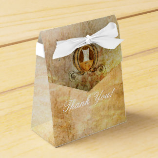 Bolso del favor de fiesta de la princesa ducha de cajas para regalos de boda