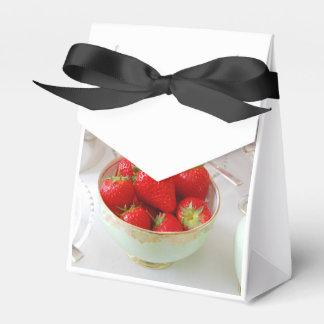 Bolso del favor del té de tarde caja para regalos de fiestas