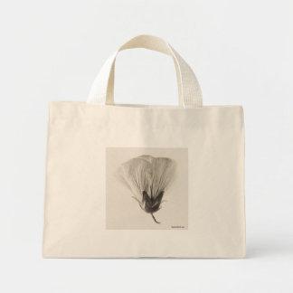 Bolso del flor del Hollyhock Bolsa De Mano