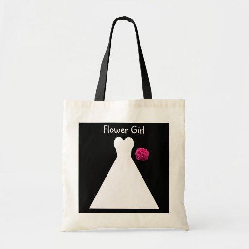 Bolso del florista -- Vestido nupcial Bolsa Tela Barata