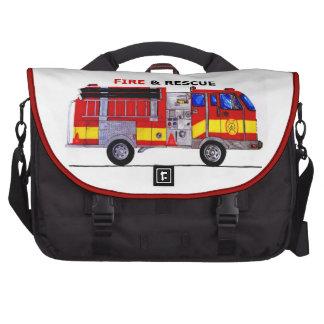 Bolso del fuego y del rescate bolsas de portatil