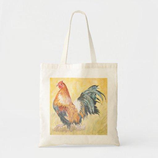 Bolso del gallo bolsa tela barata