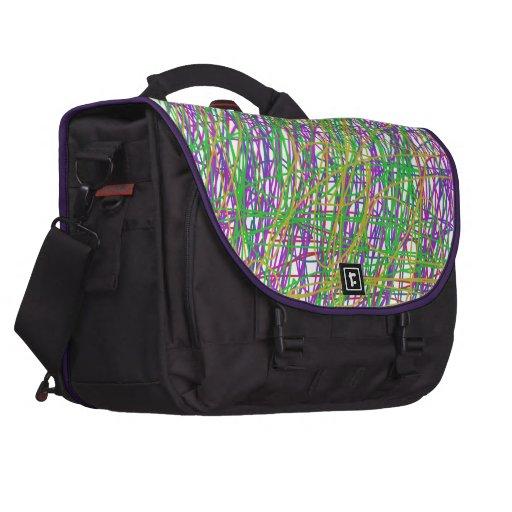 Bolso del garabato bolsas de portátil