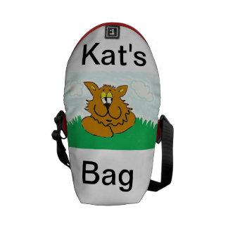 bolso del gato de los clemens bolsa de mensajeria