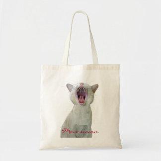 Bolso del gato de Mewsician Bolsa De Mano