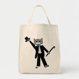 Bolso del gato del baile de golpecito bolsa tela para la compra