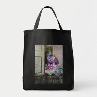 Bolso del gato del cafeína bolsas