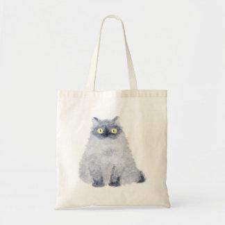 bolso del gato que se sienta bolsa tela barata