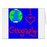 bolso del geog tarjeta