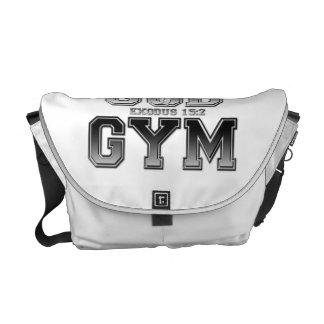 Bolso del gimnasio de dios bolsas de mensajería
