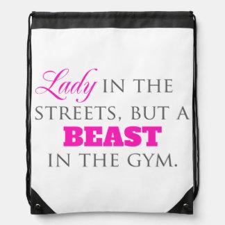 Bolso del gimnasio de señora In The Streets Mochila