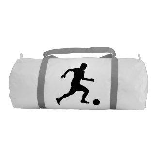 Bolso del gimnasio del jugador de fútbol bolsa de deporte
