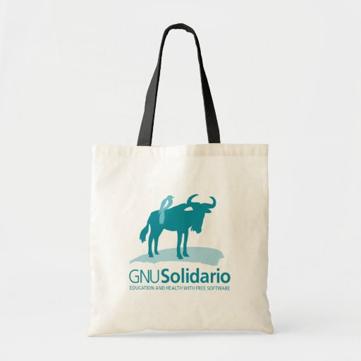 Bolso del GNU Solidario Bolsa Tela Barata