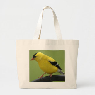 Bolso del Goldfinch Bolsa De Tela Grande