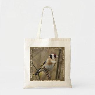 Bolso del Goldfinch Bolsa Tela Barata
