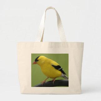 Bolso del Goldfinch Bolsa Tela Grande