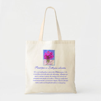 Bolso del guisante de olor de la flor bolsas