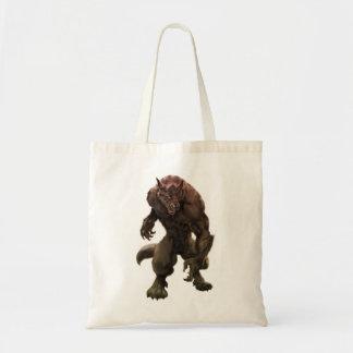 Bolso del hombre lobo bolsa tela barata