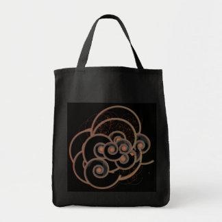 Bolso del infinito de la moda bolsa tela para la compra
