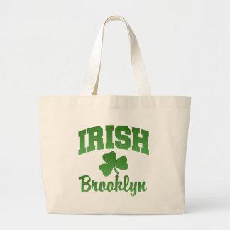 Bolso del irlandés de Brooklyn Bolsa Tela Grande