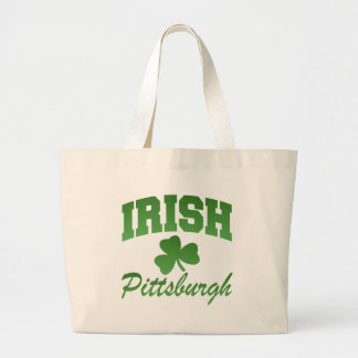 Bolso del irlandés de Pittsburgh Bolsa Tela Grande