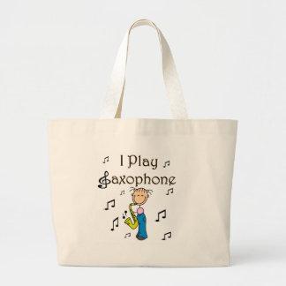Bolso del jugador de saxofón bolsas