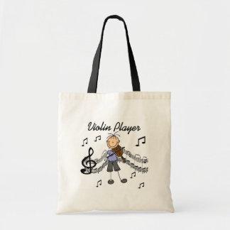 Bolso del jugador del violín bolsas