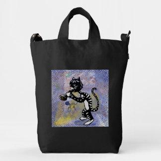 Bolso del Kat BAGGU del gatito del jazz Bolsa De Lona Duck