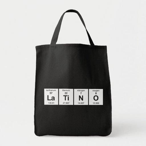 Bolso del LaTiNO Bolsas Lienzo