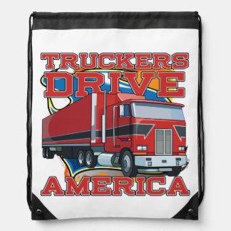 Bolso del lavadero de los conductores de camión de mochila