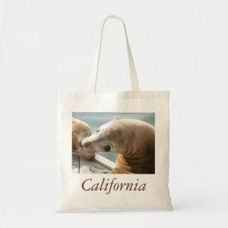 Bolso del león marino de California Bolsa De Mano
