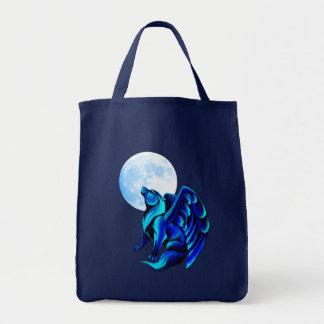 Bolso del lobo de la fantasía bolsa tela para la compra