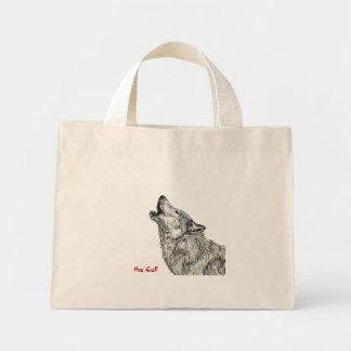 bolso del lobo del grito bolsas