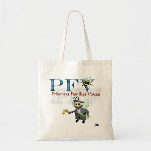 Bolso del logotipo de PFV Bolsas