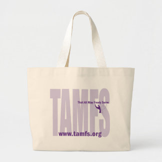 Bolso del logotipo de TAMFS Bolsa Lienzo
