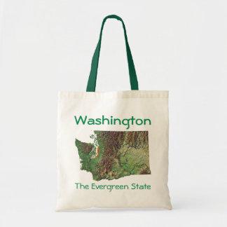 Bolso del mapa de Washingtonian Bolsa Tela Barata